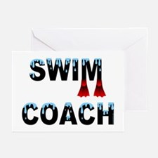 Swim Coach Greeting Cards (Pk of 20)