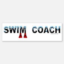 Swim Coach Bumper Bumper Bumper Sticker