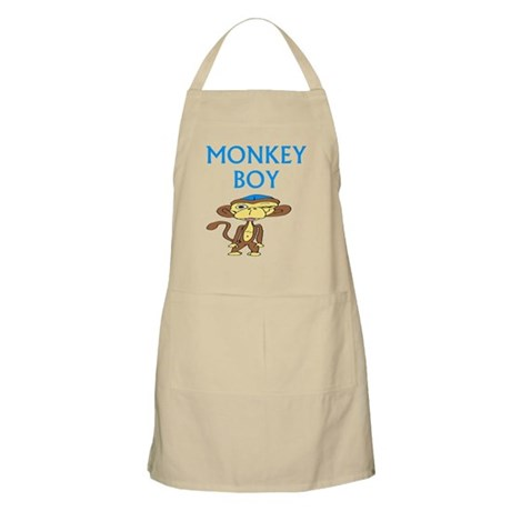 """Monkey Boy"" BBQ Apron"