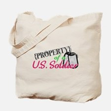 Property of a U.S. Soldier Tote Bag