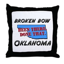 broken bow oklahoma - been there, done that Throw