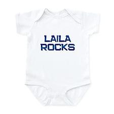 laila rocks Infant Bodysuit