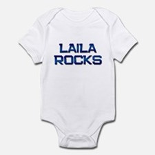 laila rocks Infant Bodysuit