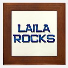 laila rocks Framed Tile