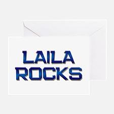 laila rocks Greeting Card