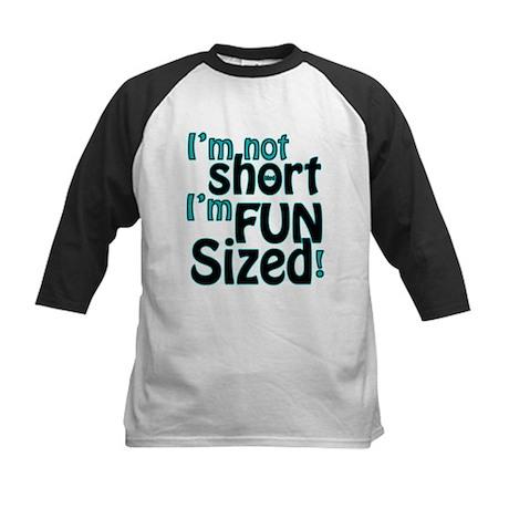 Not Short, Fun Sized Kids Baseball Jersey