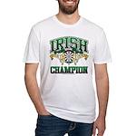 Irish Darts Champ Fitted T-Shirt