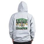 Irish Darts Champ Zip Hoodie