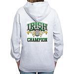Irish Darts Champ Women's Zip Hoodie
