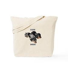 I Love Doxies Tote Bag