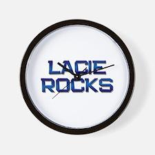 lacie rocks Wall Clock