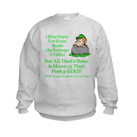 This Pesky Gold Kids Sweatshirt