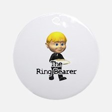 The Ring Bearer Ornament (Round)