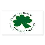 Eireann go Brach Rectangle Sticker 50 pk)