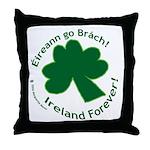 Eireann go Brach Throw Pillow