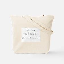 Veritas vos liberabit Tote Bag