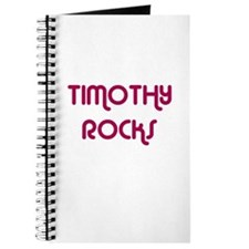 TIMOTHY ROCKS Journal
