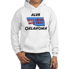 alva oklahoma - been there, done that Hoodie