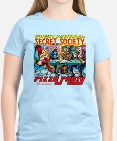 SECRET SOCIETY PIZZA PARTY T-Shirt