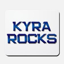 kyra rocks Mousepad