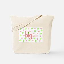 big sister t-shirt polkadot Tote Bag