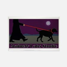 Nite Walk Rectangle Magnet
