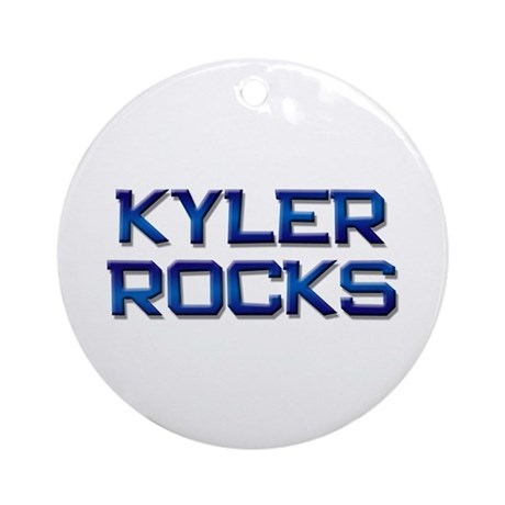 kyler rocks Ornament (Round)