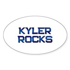 kyler rocks Oval Decal
