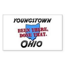 youngstown ohio - been there, done that Decal