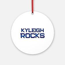 kyleigh rocks Ornament (Round)