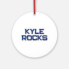 kyle rocks Ornament (Round)