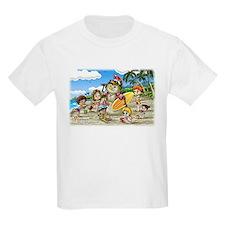 Fiaba and Friends Surfing Sandman Kids T-Shirt