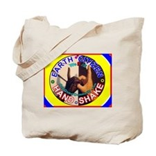 COOL Earth Citizen Hand-Shake Tote Bag