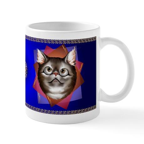 Awestruck Kitty Mug
