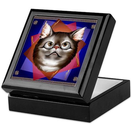 Awestruck Kitty Keepsake Box