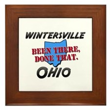 wintersville ohio - been there, done that Framed T