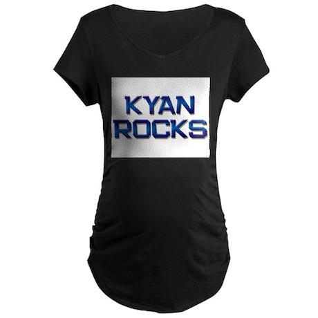 kyan rocks Maternity Dark T-Shirt