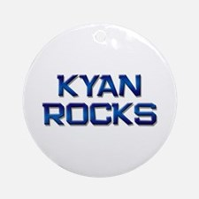 kyan rocks Ornament (Round)