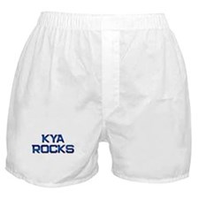 kya rocks Boxer Shorts