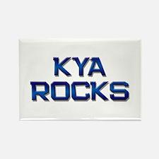 kya rocks Rectangle Magnet