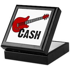 Guitar - Cash Keepsake Box