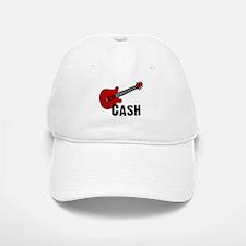 Guitar - Cash Baseball Baseball Cap