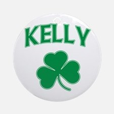 Kelly Irish Ornament (Round)