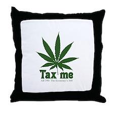 AB 390 Tax me Throw Pillow