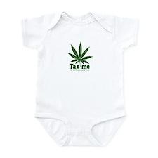 AB 390 Tax me Infant Bodysuit