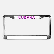CUBANA License Plate Frame