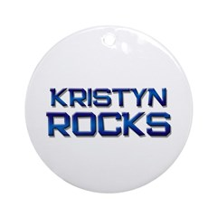 kristyn rocks Ornament (Round)