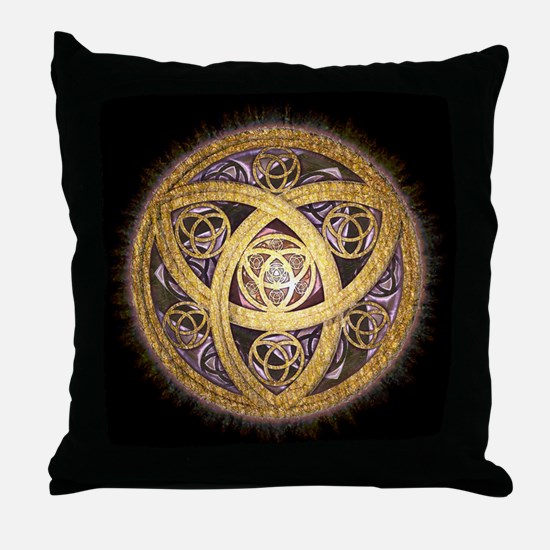 Celtic Sun Throw Pillow
