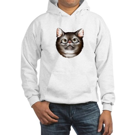 Awestruck Kitty Hooded Sweatshirt