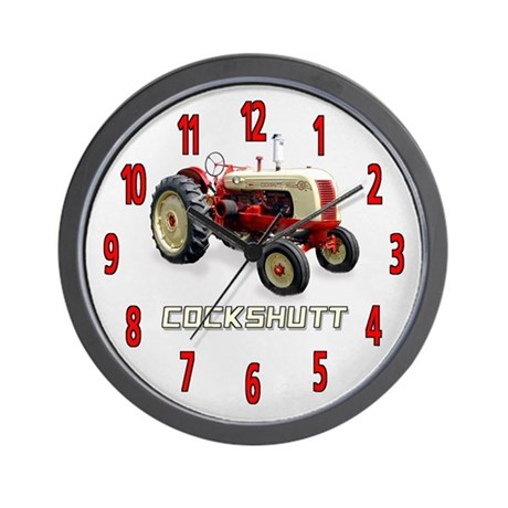 Cockshutt Tractor Wall Clock